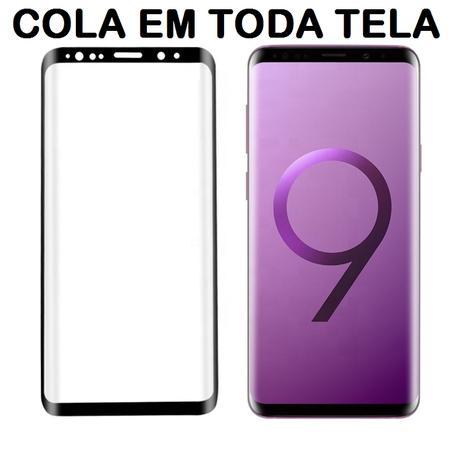 9c890e3f4 Pelicula De Vidro Temperado Galaxy S9 Plus - 5D Curvada Cola a Tela Toda -  M3