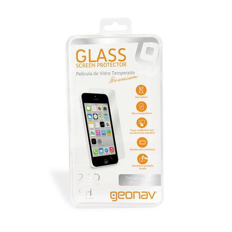 01bf025bb93 Película de vidro temperado para iPhone 5/5s/SE - GEONAV - Capinha e ...