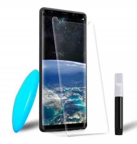Imagem de Película De Vidro Uv Curvada Cola Líquida Samsung Galaxy S9