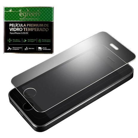 ec5d5c07d6e Película para iPhone SE / 5s / 5c / 5, Vidro, eGreen - Película para ...