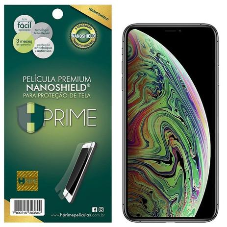 3ff1e3fe6 Pelicula Premium HPrime para Apple iPhone Xs Max - NanoShield Transparente
