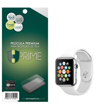 243230799df Pelicula Premium HPrime para Apple Watch Series 1   2   3 38mm - PET  Invisivel