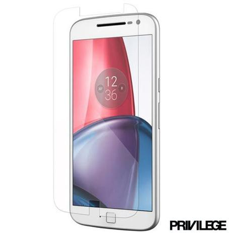 Imagem de Película Protetora Privilege para Moto G4 Plus de Vidro Transparente - PRIVPG4PCLR