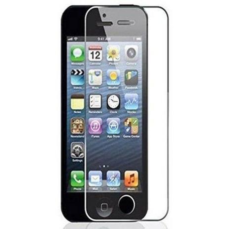 6c850e0b2db Pelicula Protetora Vidro Temperado Blindada para Iphone 5 5s 5G - Rebo