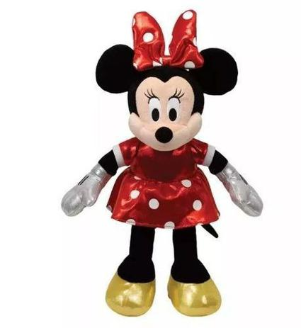 Imagem de Pelúcia Minnie Mouse Ty Beanie Babies Ursinho Ty Original