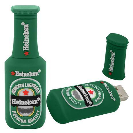 5d21162aac Pen Drive Garrafa de Heineken - Mega empório - Pen Drive - Magazine ...