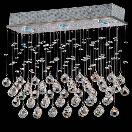 Pendente star cristal 42cm 3 lamp  gu10 - Home line