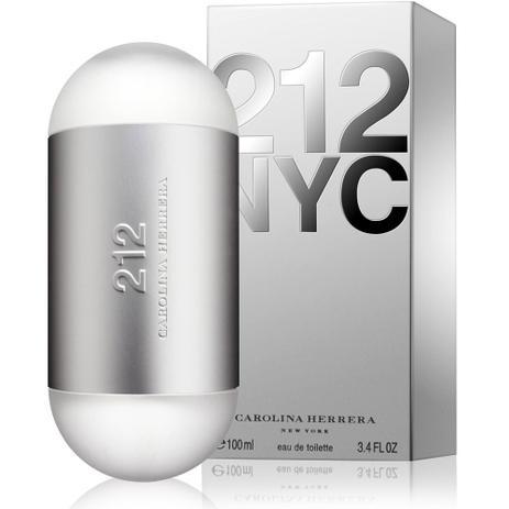 edf51d681 Perfume 212 nyc feminino eau de toilette 100ml carolina herrer - Carolina  herrera