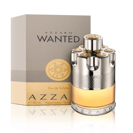 2721f10b8c Perfume Azzaro Wanted Masculino Eau de Toilette 100ml Azzaro ...
