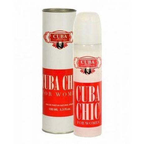Imagem de Perfume Cuba Chic Addict Eau De Parfum Feminino 100Ml