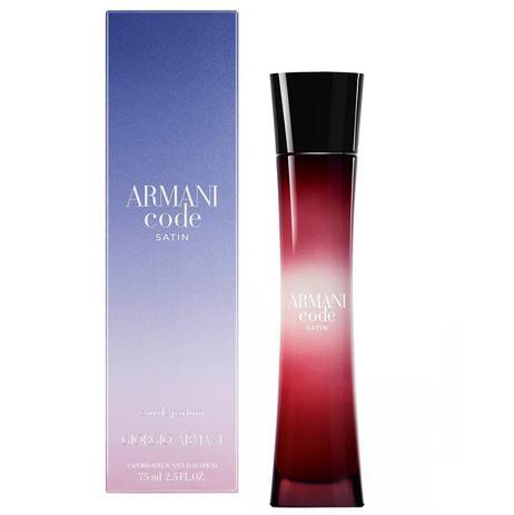 Perfume Feminino Armani Code Satin Giorgio Armani Eau de Parfum 50ml ... fc97827636