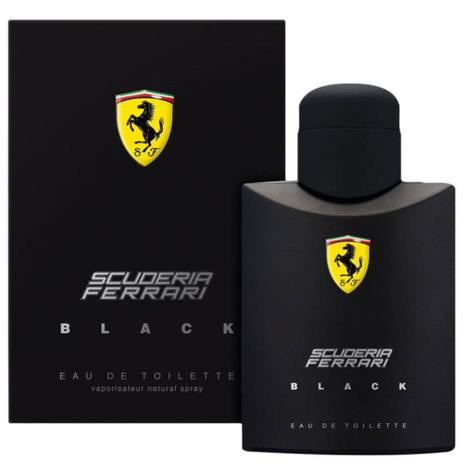 Perfume Ferrari Black 125ml - Original - Made In Italy - Geral
