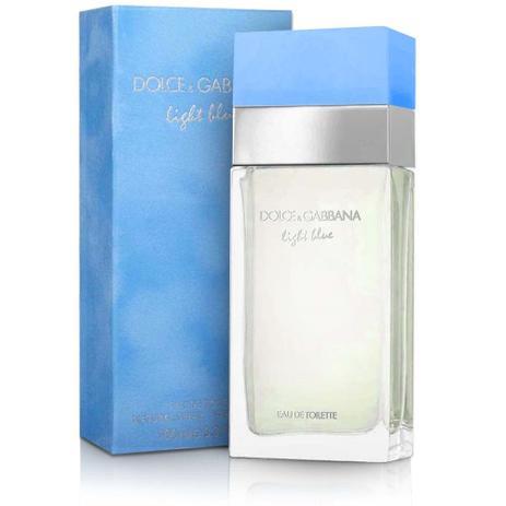57e36c1101840 Perfume light blue feminino eau de toilette 100ml dolce gabbana ...