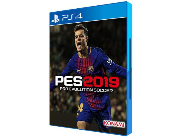 PES 2019 Pro Evolution Soccer para PS4 - Konami - 220V
