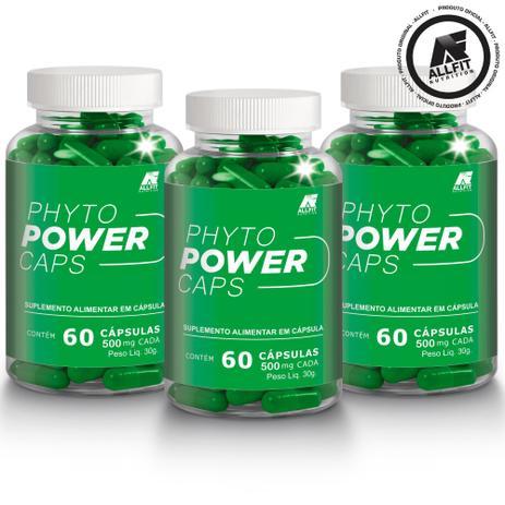 Imagem de Phytopower caps original Allfit Nutrition combo 3 potes