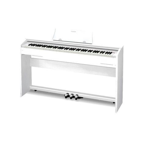 44cb886eea5 Piano Digital Casio Privia PX770WE Branco - Piano - Magazine Luiza