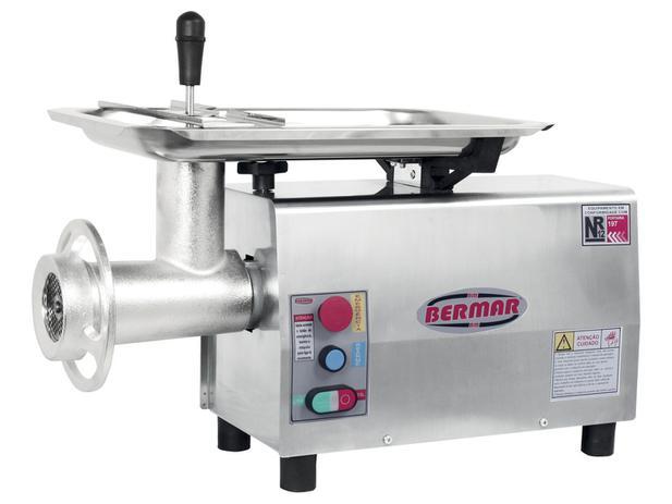 Picador de Carne Inox BM 20 NR PF - Bermar - 220V