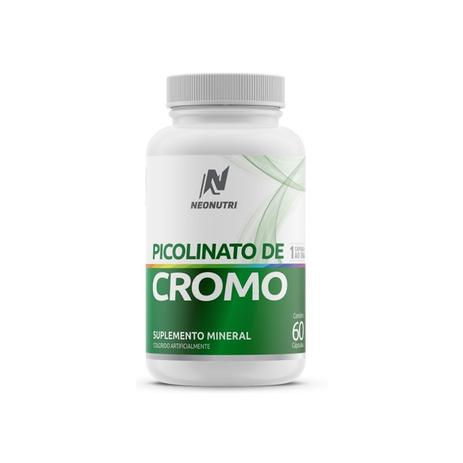 Imagem de Picolinato de cromo neonutri 60 cápsulas