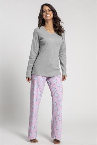 5c93915d41f5da Pijama Recco Bionature e Malha algodão - Baunilha