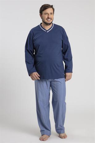 27563bdff3fffd Pijama Recco Plus Size de 100 algodão - Recco man
