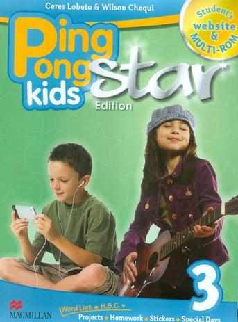 Ping pong kids star edition 3 sb with multi-rom and website code - Macmillan