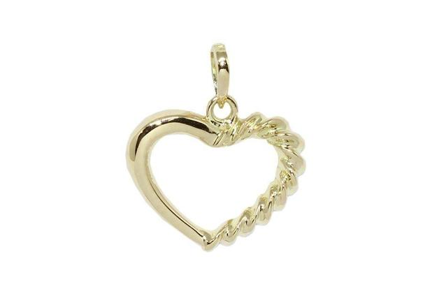 809b0680b36fd Pingente coração em ouro 18k - Retran joias - Pingente - Magazine ...