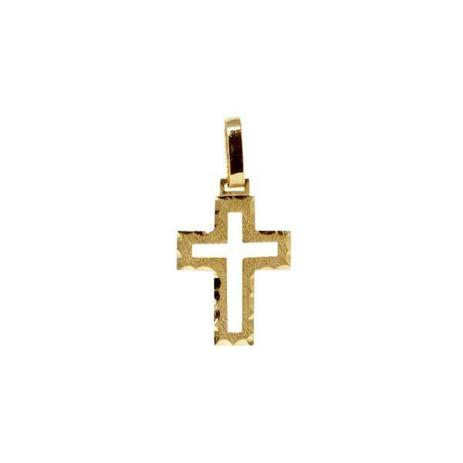 01f58de3edc90 Pingente Cruz Ouro 18k - cod.10545 - Retran joias - Pingente ...