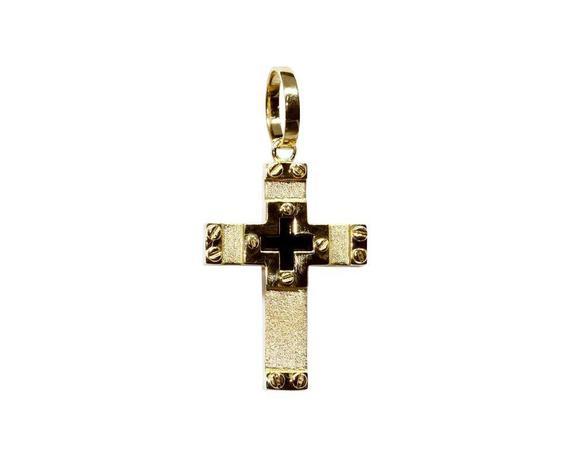 Pingente cruz ouro 18k - Retran joias - Pingente - Magazine Luiza ab028f6295