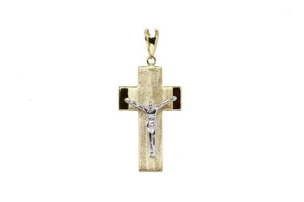 30ae167a2dd77 Pingente cruz ouro 18k - Retran joias - Pingente - Magazine Luiza