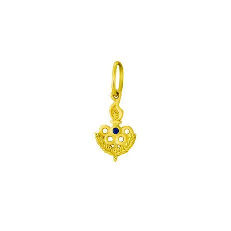 Pingente de Ouro 18k Formatura Símbolo Educação Física pi17916 . 8523ce1157