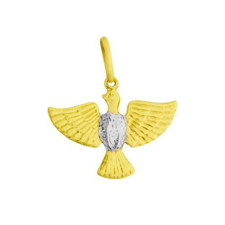 Pingente de Ouro 18k Imagem do Divino Espírito Santo Médio pi15219 -  Joiasgold a7f3522111