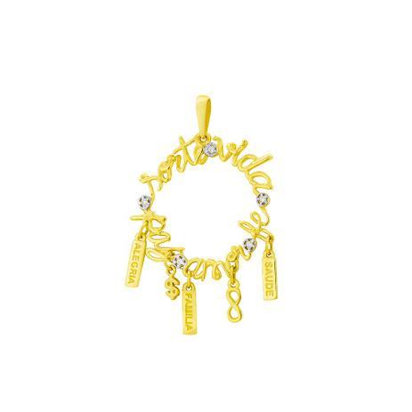 41babd88c9680 Pingente de Ouro 18k Mandala com Pingentes Pendurados e Diamantes pi17 -  Joiasgold