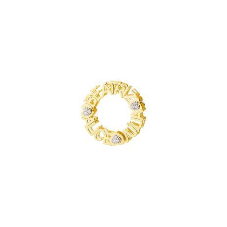 b6001032793 Pingente de Ouro 18k Mandala Nome até 17 Letras com Diamantes pi18803 -  Joiasgold