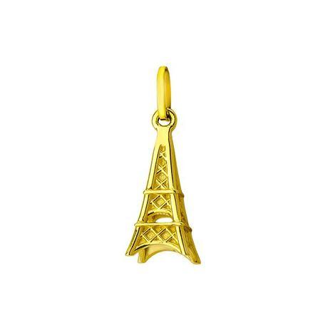 Pingente de Ouro 18k Modelo Torre Eiffel pi17563 - Joiasgold ... 36dcb7e503