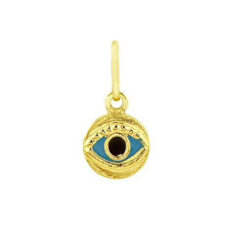 Pingente de Ouro 18k Olho Grego pi01484 - Joiasgold - Pingente ... a5b2cfca76