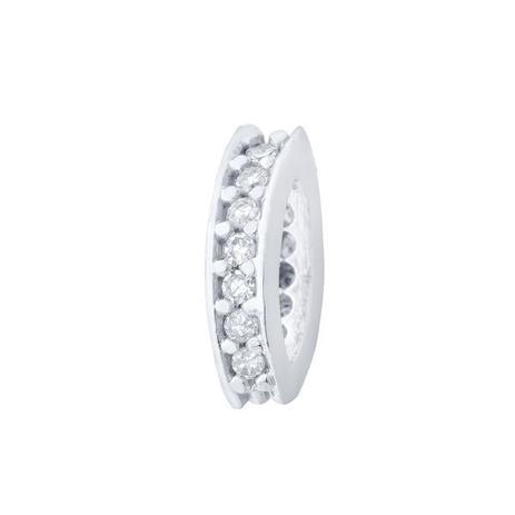 Pingente de Ouro 18k Separador com Diamantes pi16083 - Joiasgold ... 63452031fb