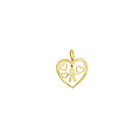 Imagem de Pingente em Ouro 18K Menino com Diamante - AU3305