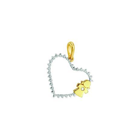 Imagem de Pingente Ouro 18K Menina com Diamante - AU2482