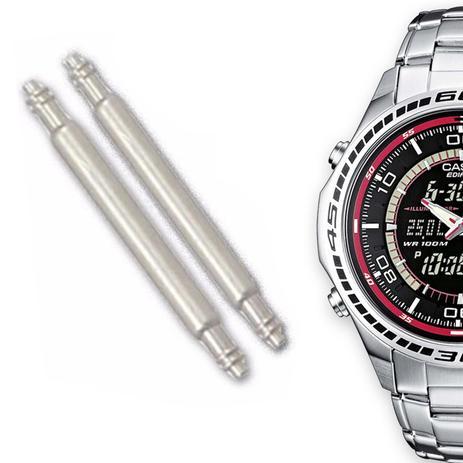 d5db8d5b1da Pinos Para Pulseira de Relógio Casio Edifice EFA-121D - Oficina dos relógios