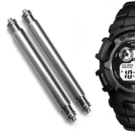 3197345fcc1 Pinos Para Pulseira de Relógio Casio G-SHock G2300F - Oficina dos relógios