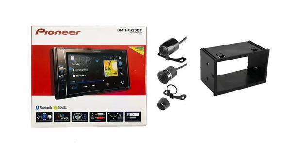 Imagem de Pioneer Dmh-g228bt 6.2 Multimídia+câmera Ré+moldura Ecosport