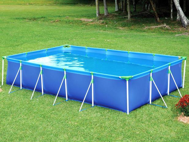 Piscina litros retangular mor premium piscina for Piscina 8000 litros