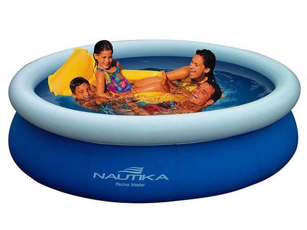 Piscina 12000 litros redonda nautika master piscina for Piscina 8000 litros redonda