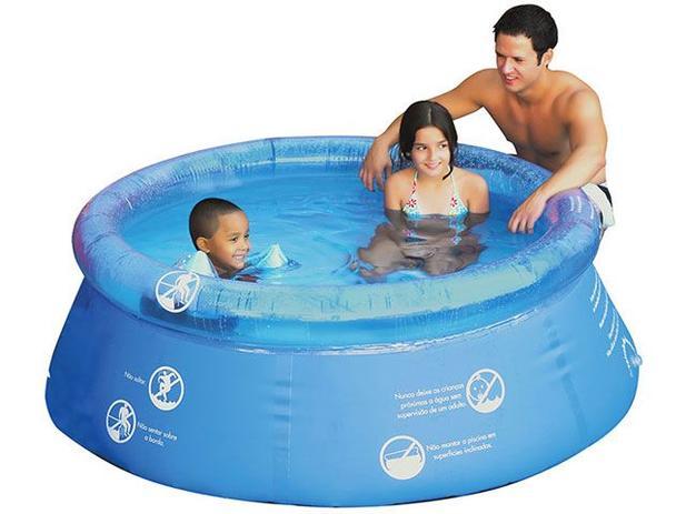 Piscina 1400 Litros Redonda  - Mor Splash Fun