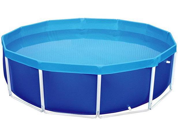 Piscina 4500 litros redonda mor circular piscina for Piscina redonda grande