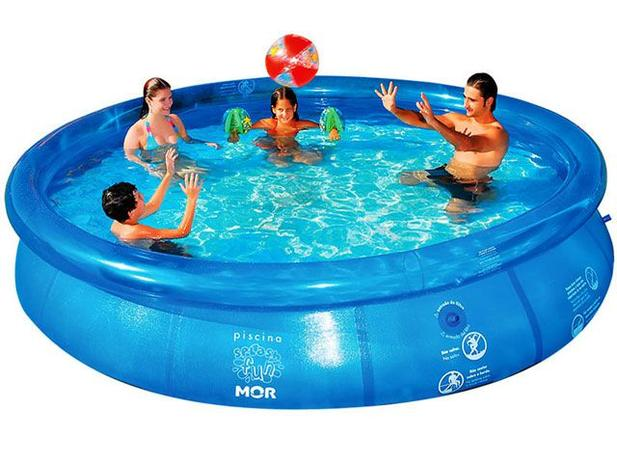 Piscina 6700 Litros Redonda Mor Splash Fun Piscina