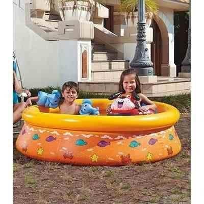 Imagem de Piscina Infantil 520 Litros Estampada Inflável Splash Fun