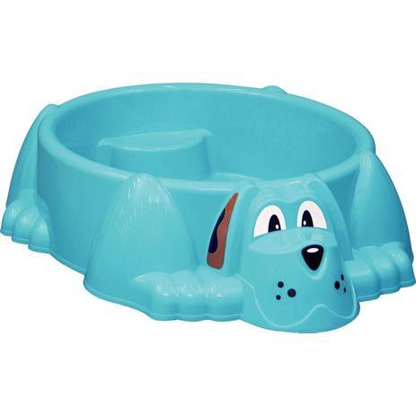 Imagem de Piscina infantil em plastico aquadog azul