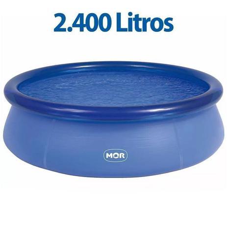 Imagem de Piscina Inflável Redonda Splash Fun 2400 Litros - Mor