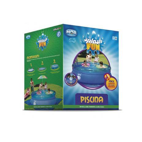 Imagem de Piscina Splash Fun 2400 litros 240x63cm Mor